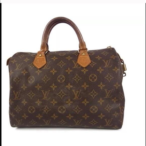 a8af82cd69a4 Louis Vuitton Handbags - Louis Vuitton Monogram Speedy 30